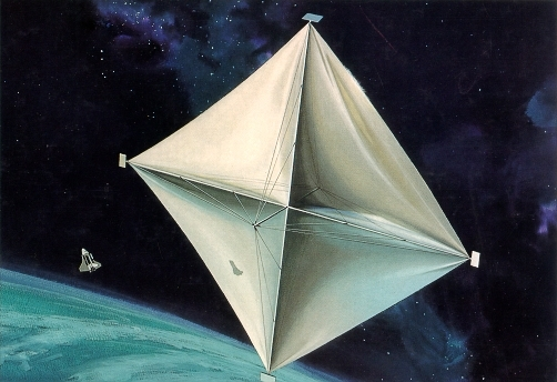 Space Sailing Solar Sailing Light Sailing